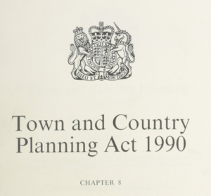 1990 town and country planning act