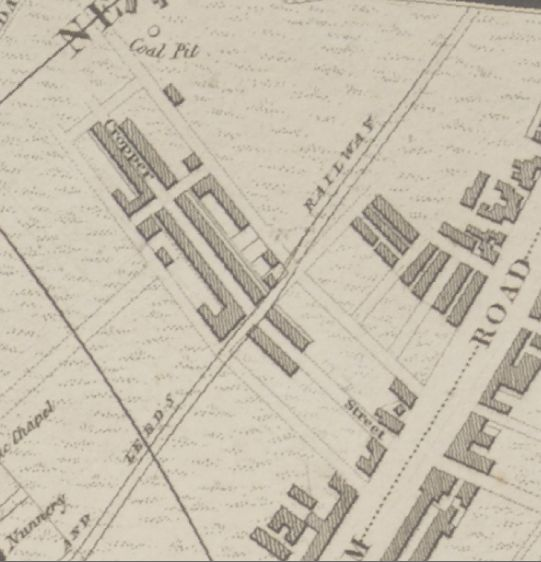 cropper st 1836 map