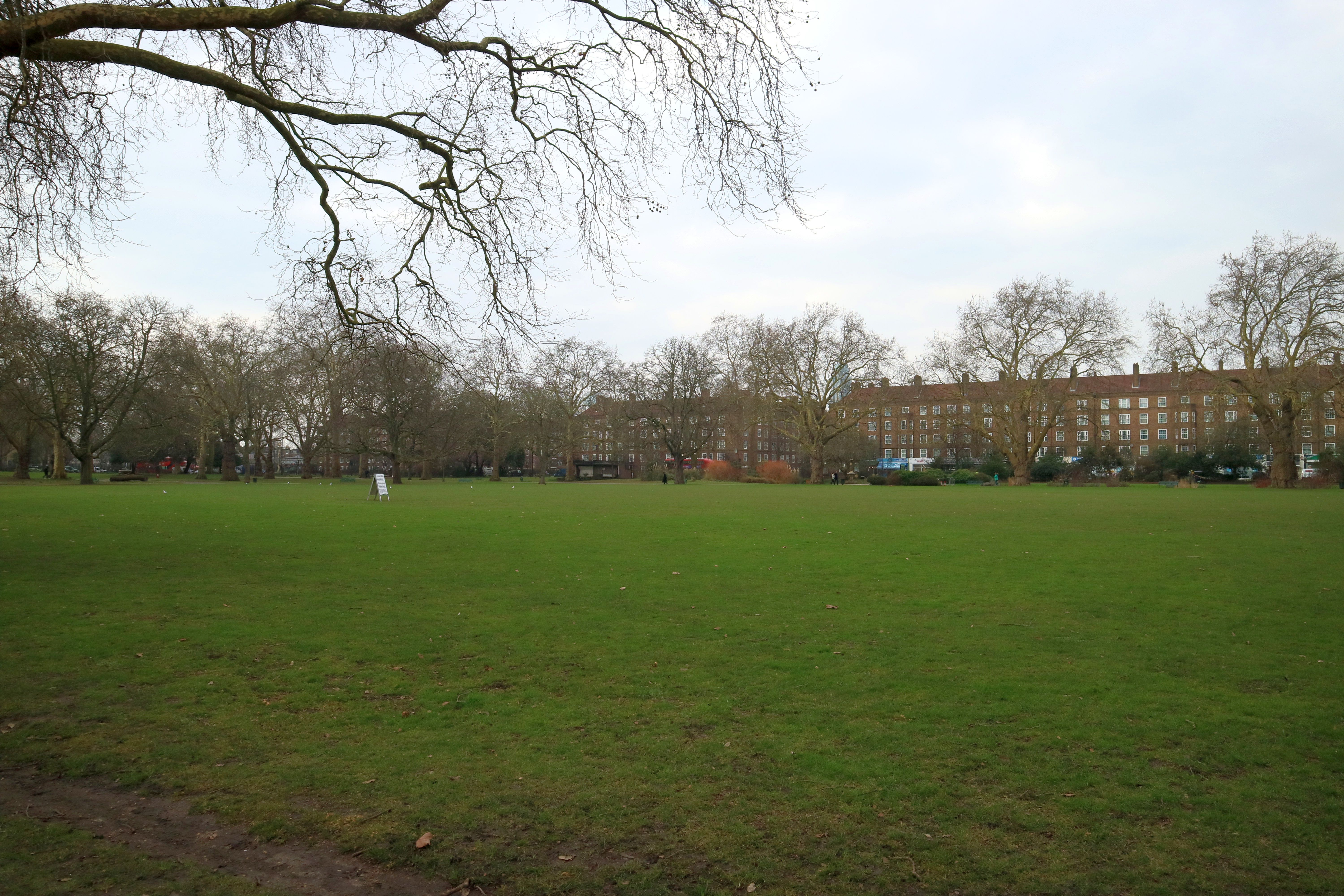 Kennington Common, 22 Feb 2018