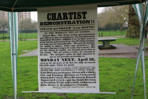 chartist kennington poster
