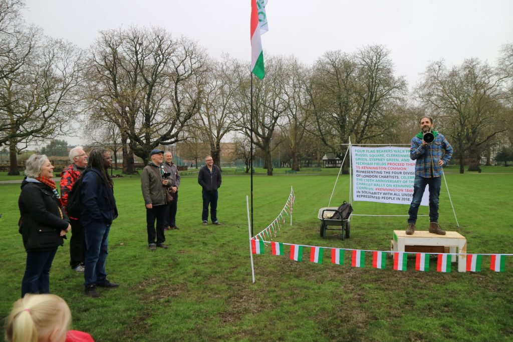 Kennington Chartist commemoration, 10 April 2018