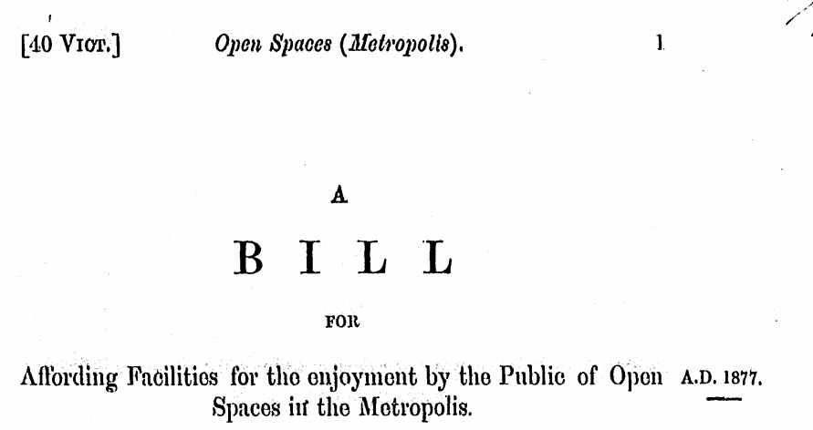 1877 open spaces metropolis