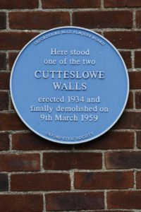 Cutteslowe Wall plaque