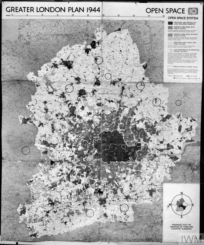 abercrombie greater london plan 1944