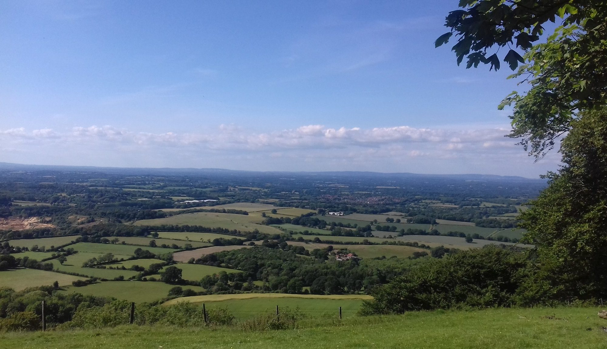 chanctonbury ring view