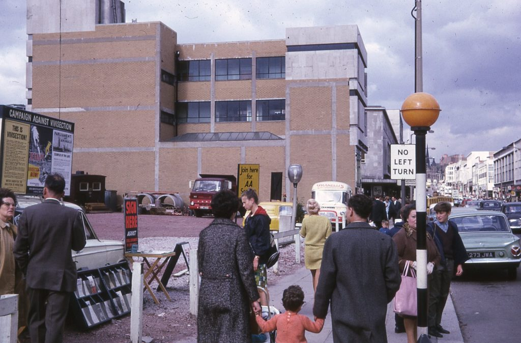JR James collection, The Moor, Sheffield, Sept 1967