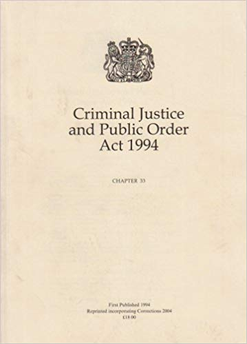 criminal justice act 1994