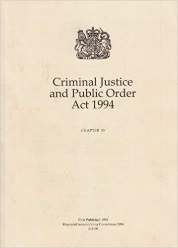 criminal justice act 1994