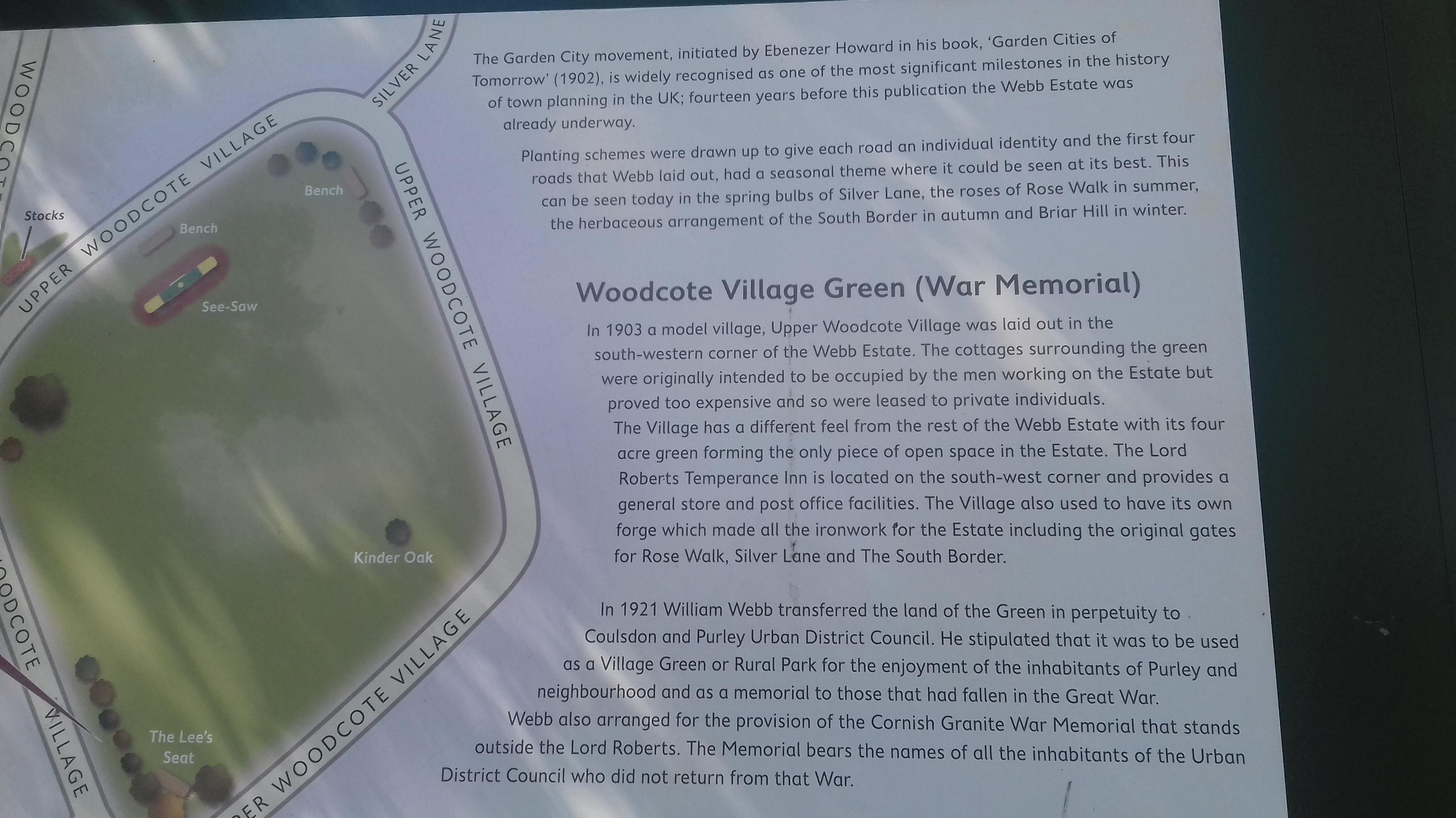 webb estate sign