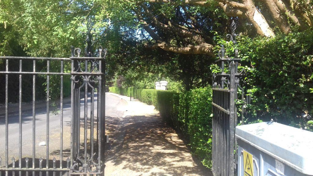 webb estate gate