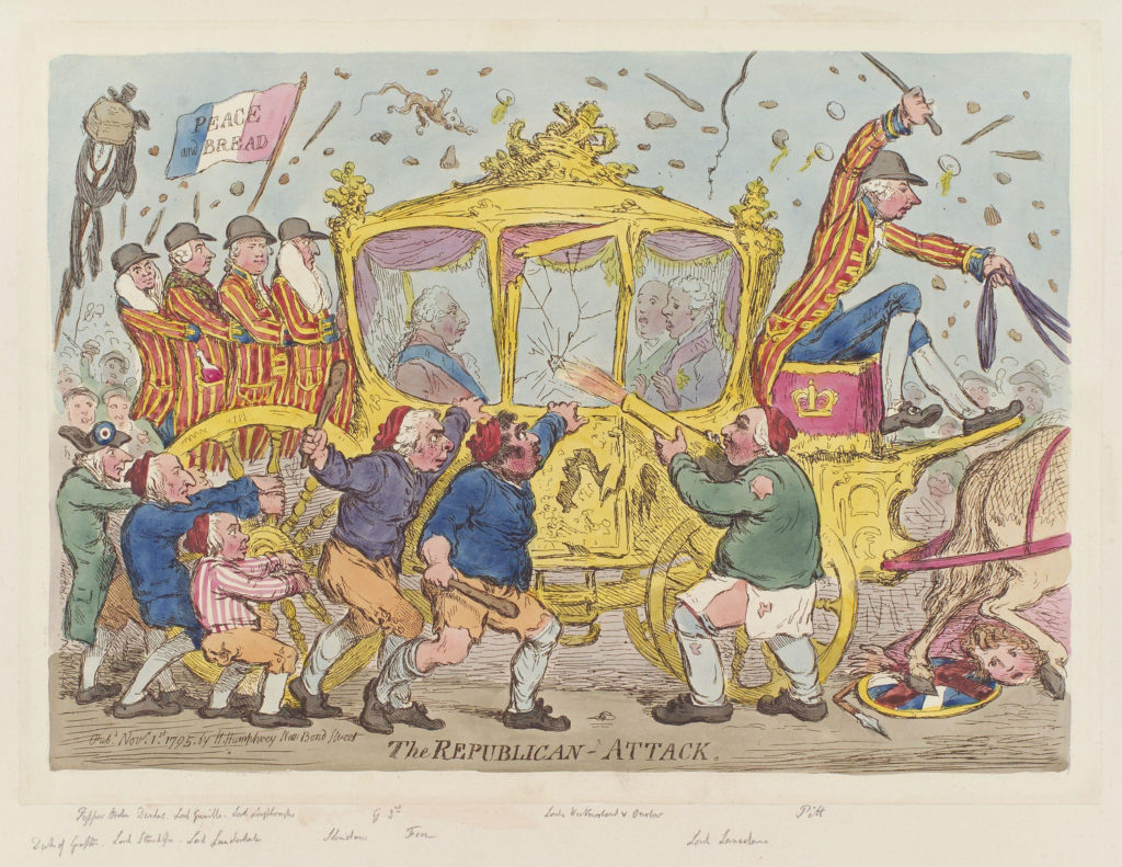 Gillray cartoon 1817