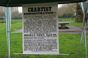 chartist kennington poster
