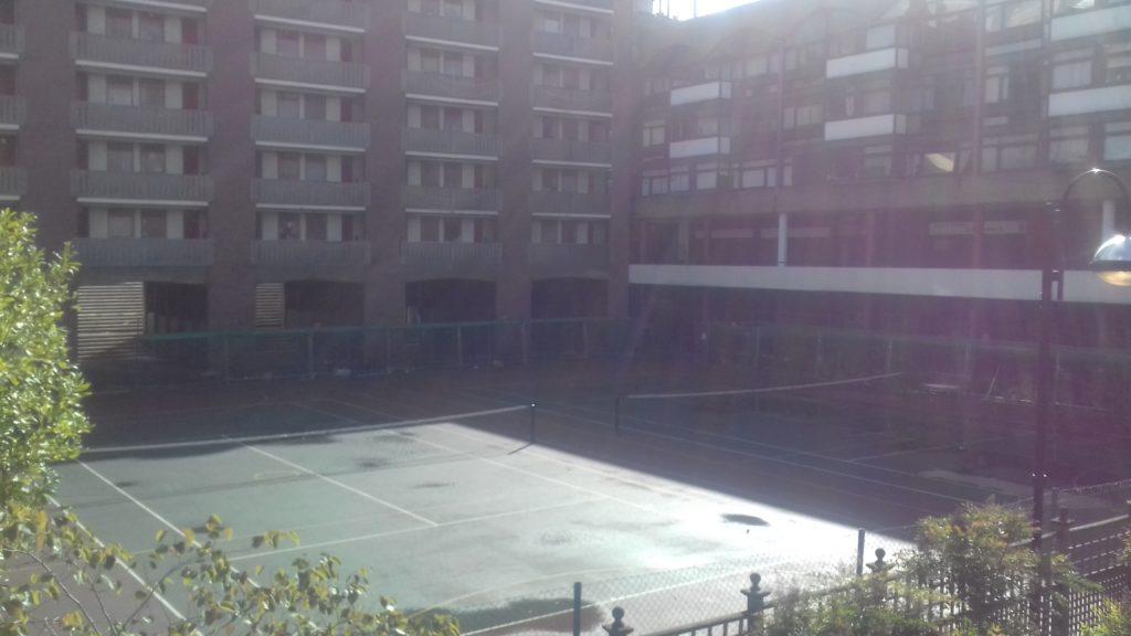 tennis courts golden lane