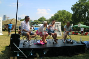 'people's question time', Kennington park, 7 July 2018