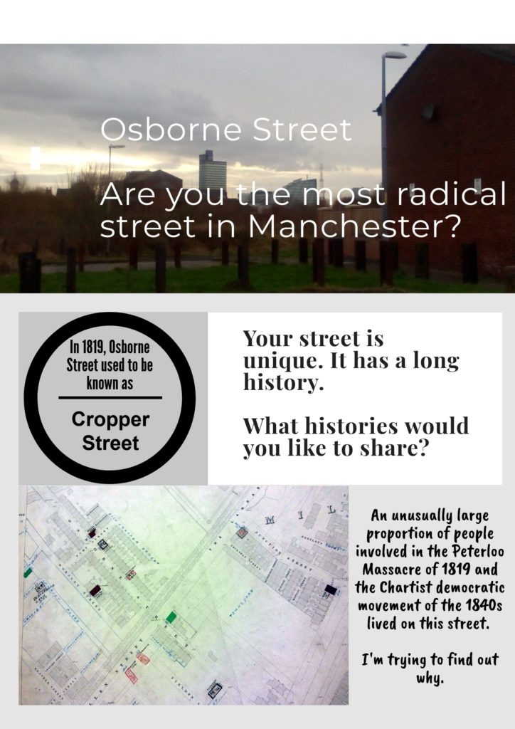 the most radical street in Manchester - join in
