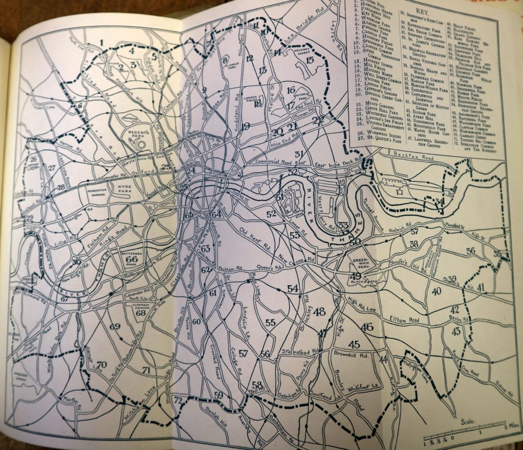 LCC map of parks 1924