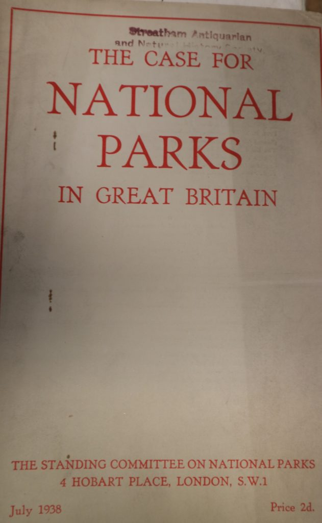 case for national parks in great britain