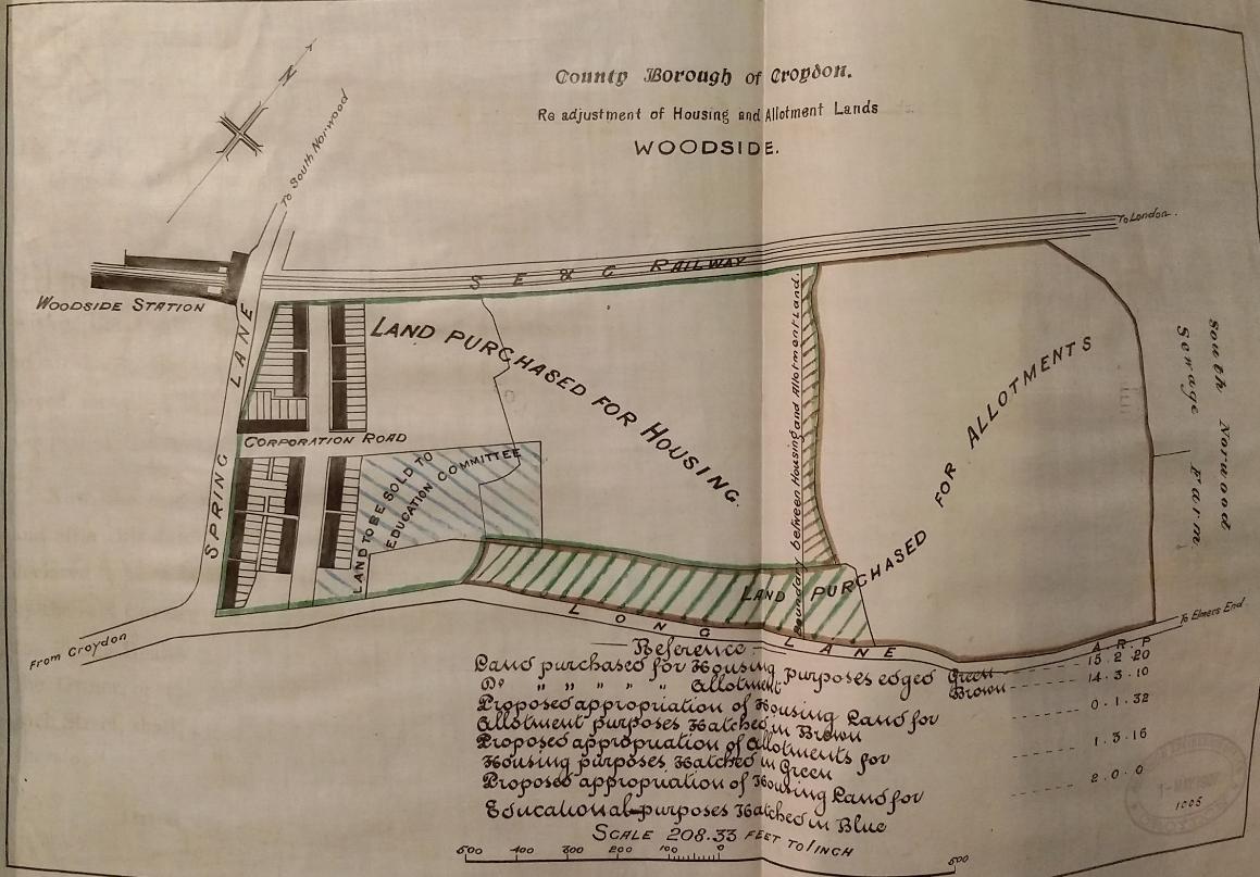 map croydon housing