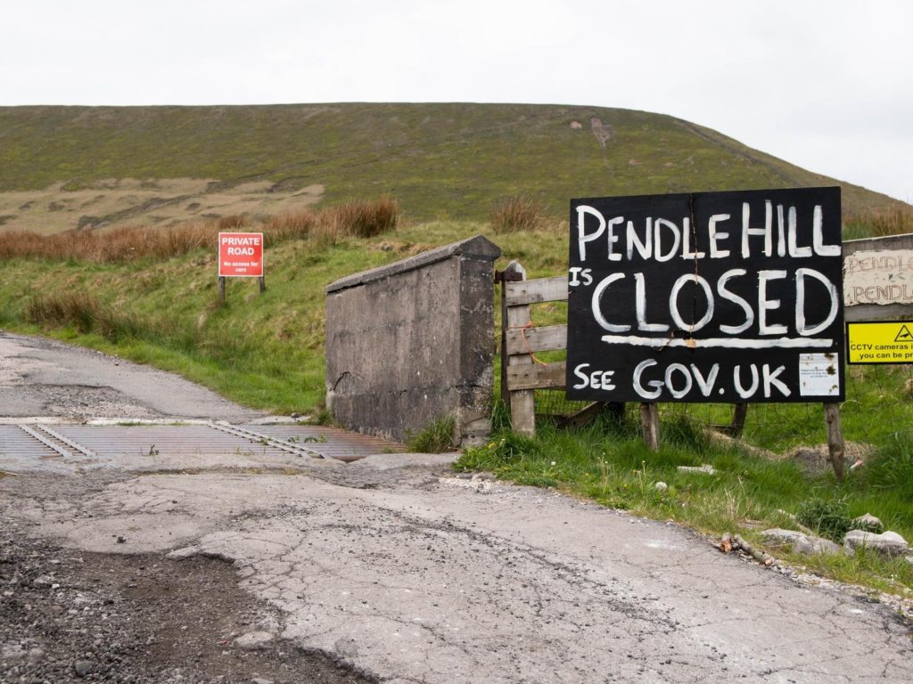 pendle hill is closed