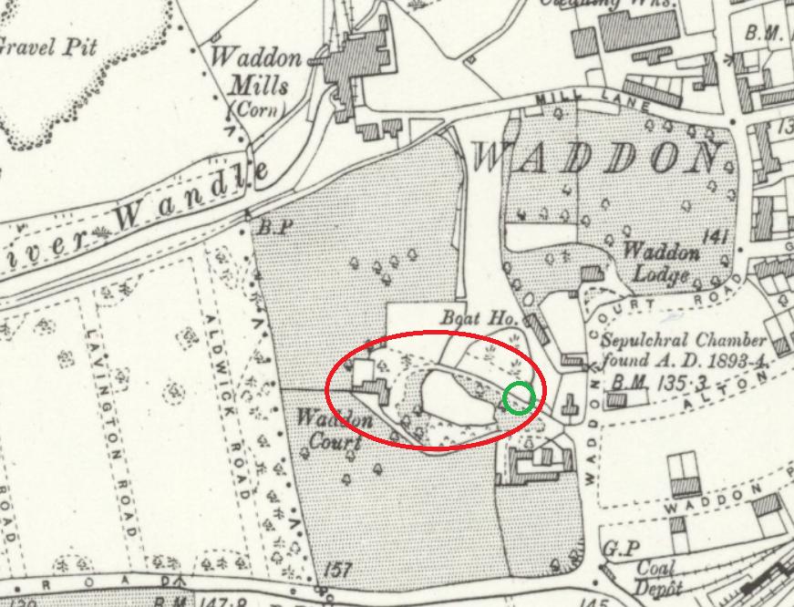 waddon court map